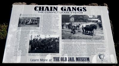 Chain Gangs Marker image. Click for full size.