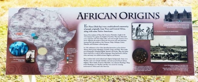 African Origins Marker image. Click for full size.
