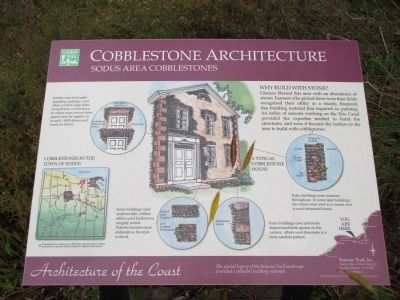 Cobblestone Architecture Marker image. Click for full size.