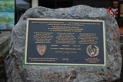 Nearby Civil Engineering Tribute Plaque image. Click for full size.