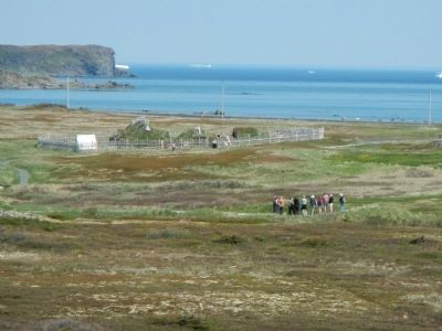 L'Anse aux Meadows image. Click for full size.