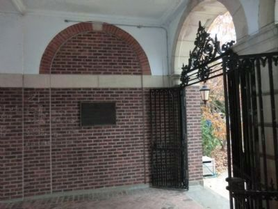 Hessian Army during the Revolutionary War-Breezeway Arch image. Click for full size.