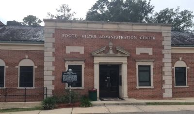 Foote-Hilyer Administration Center entrance image. Click for full size.
