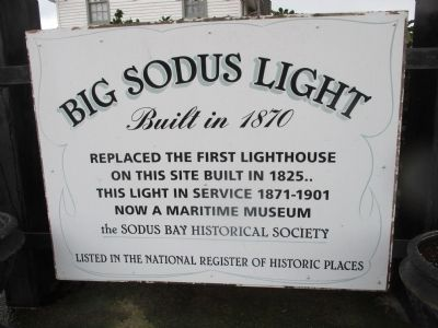 Big Sodus Light Marker image. Click for full size.