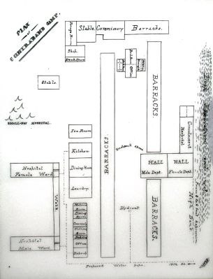 Camp Barker Plan image. Click for full size.