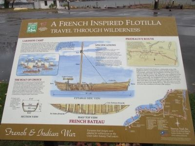 A French Inspired Flotilla Marker image. Click for full size.
