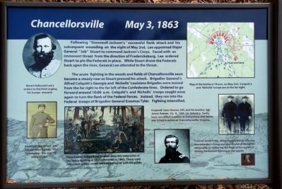 Chancellorsville Marker image. Click for full size.