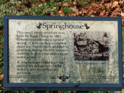 Springhouse Marker image. Click for full size.