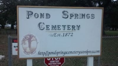Pond Springs Cemetery Association image. Click for full size.