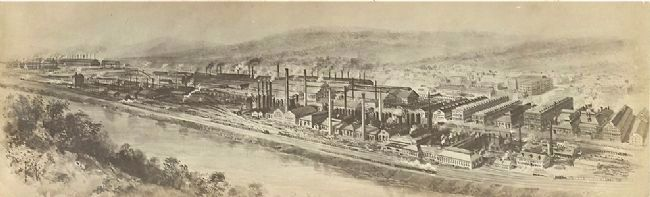 Bethlehem Steel Plant image. Click for full size.