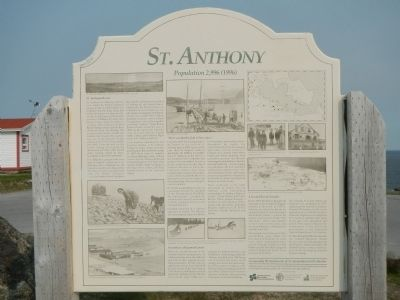 St. Anthony Marker image. Click for full size.