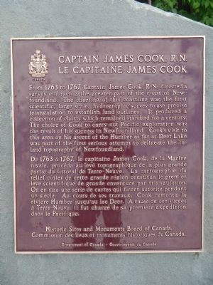 Captain James Cook, R.N. Marker image. Click for full size.