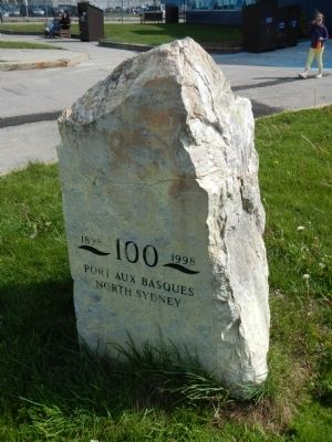 Port aux Basques - North Sidney Marker image. Click for full size.