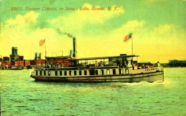 <i> Steamer Colonial, on Seneca Lake, Geneva, N.Y.</i> image. Click for full size.
