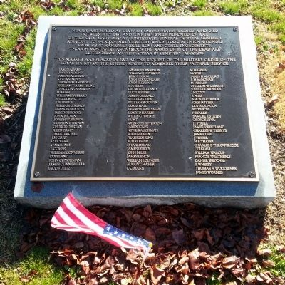 Shockoe Hill Cemetery Union POW Memorial image. Click for full size.