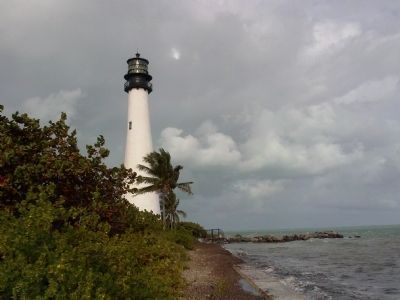 Cape Florida Lighthouse image. Click for full size.