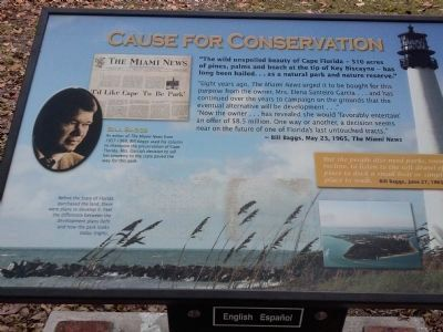 Cause for conservation marker image. Click for full size.