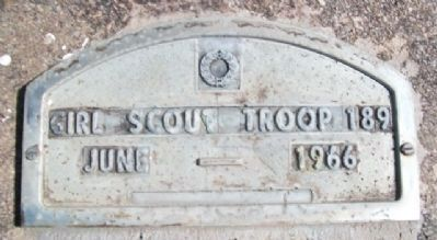 The Soldiers Free Homestead Colony Girl Scout Troop 189 Marker image. Click for full size.