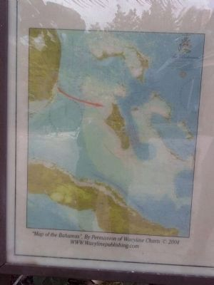 """Map of the Bahamas"" on the marker image. Click for full size."