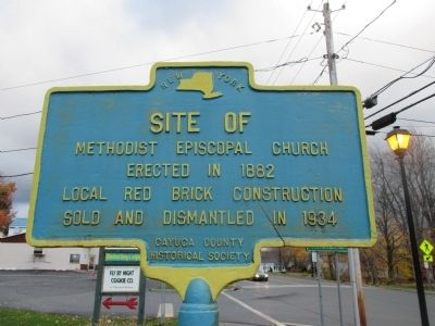 Site of Methodist Episcopal Church Marker image. Click for full size.