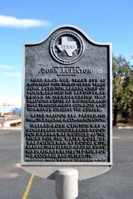 Site of Curfew by John J. Clinton Marker image. Click for full size.