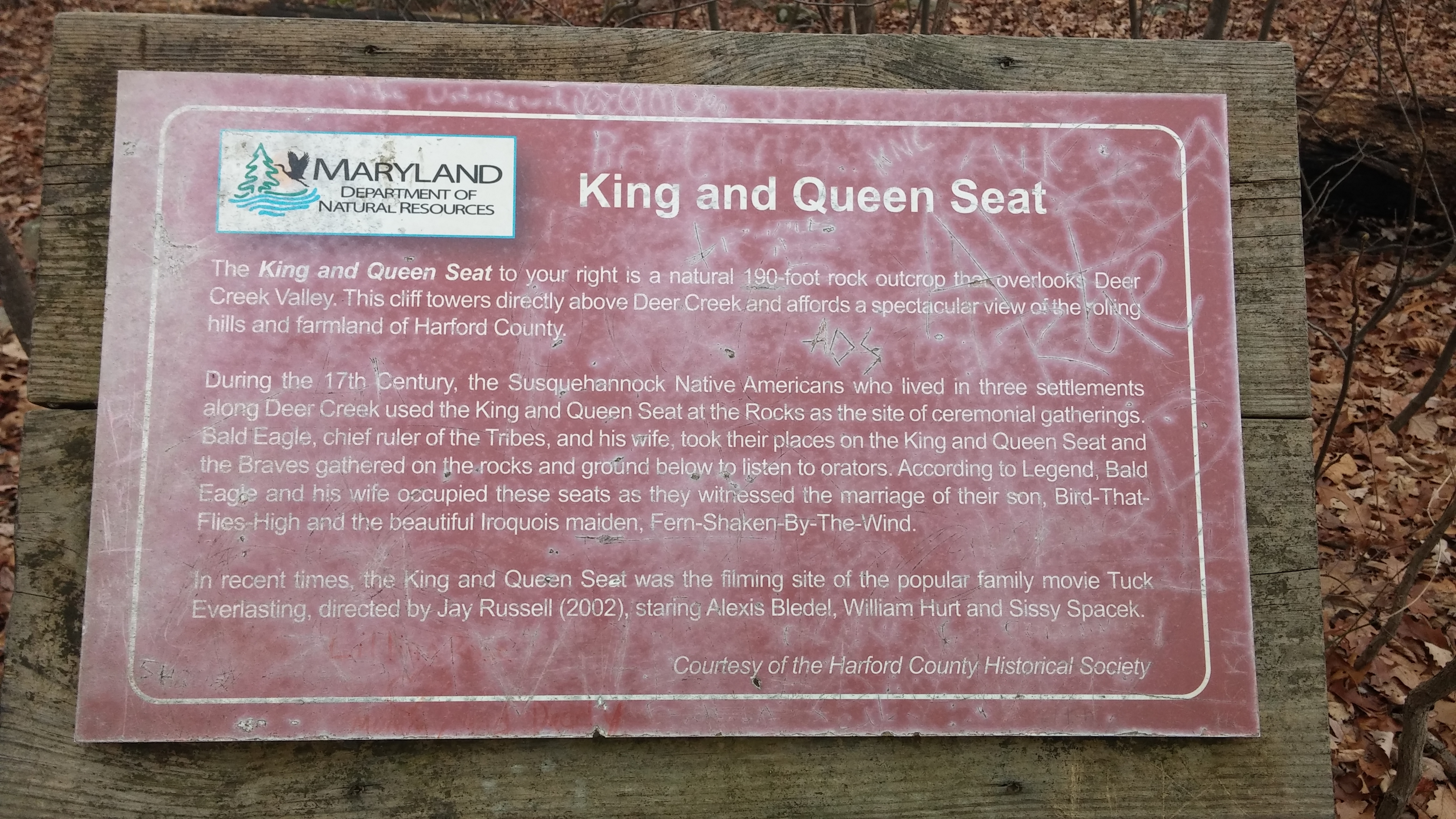 King and Queen Seat Marker