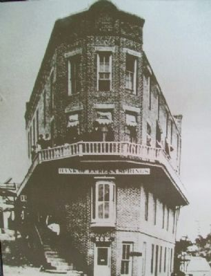 Marker Photo of First Flat-Iron Bldg image. Click for full size.