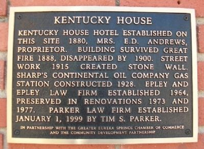 Kentucky House Marker image. Click for full size.