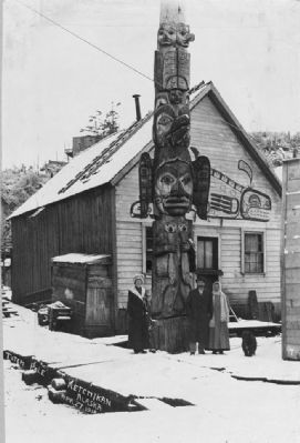 <i>Totem Pole, Ketchikan, Alaska</i> image. Click for full size.
