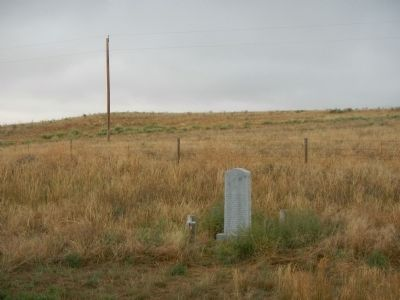 The Cheyenne-Black Hills Trail Marker image. Click for full size.