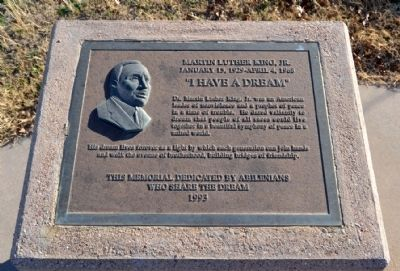 Martin Luther King, Jr. Memorial Marker image. Click for full size.