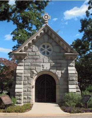 Logan's Tomb in Rock Creek Cemetery image. Click for full size.