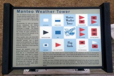 Manteo Weather Tower Marker image. Click for full size.