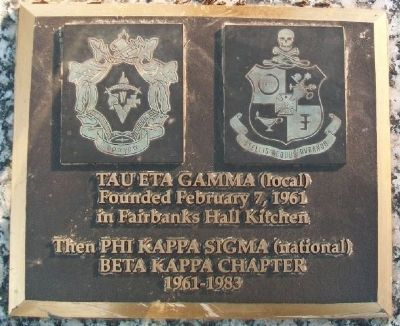 Tau Eta Gamma (local) Marker image. Click for full size.