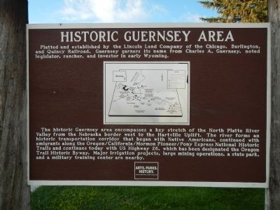 Historic Guernsey Area Marker image. Click for full size.