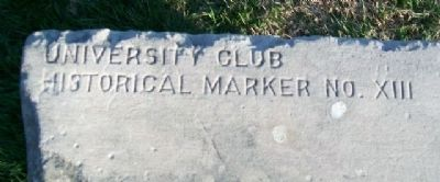 Indian Mounds Marker Sponsor image. Click for full size.