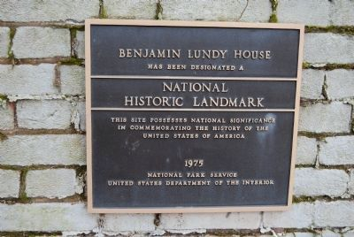 Benjamin Lundy House image. Click for full size.