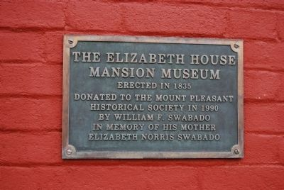 The Elizabeth House Mansion Museum image. Click for full size.