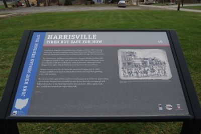 Harrisville Marker image. Click for full size.