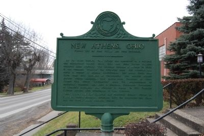 New Athens, Ohio Marker image. Click for full size.