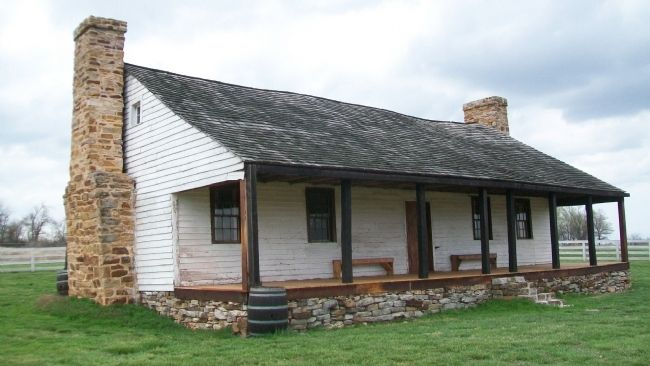 Nathan Boone Cabin State Historic Site image. Click for full size.