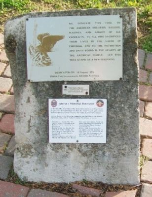Veterans Memorial Markers image. Click for full size.