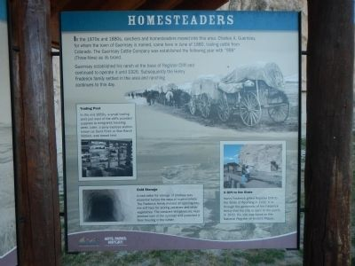 Homesteaders Marker image. Click for full size.