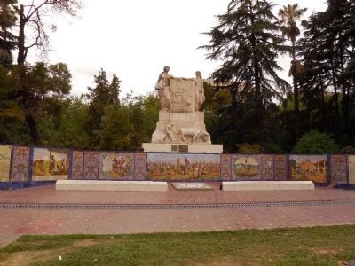 Monumento a la Hermandad Hispano-Argentina image. Click for full size.
