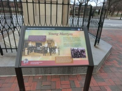 Young Martyrs Marker image. Click for full size.