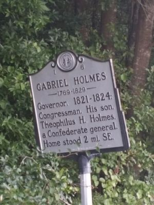 Gabriel Holmes Marker image, Touch for more information