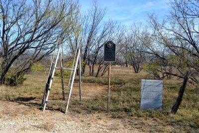 Callahan City Cemetery and Site of Callahan City Markers image. Click for full size.