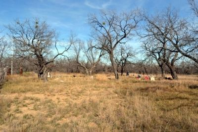 Callahan City Cemetery image. Click for full size.