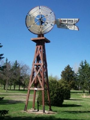 Dempster Windmill at Windmill State Recreation Area image. Click for full size.