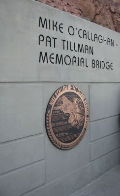Mike O'Callaghan - Pat Tillman Memorial Bridge image. Click for full size.